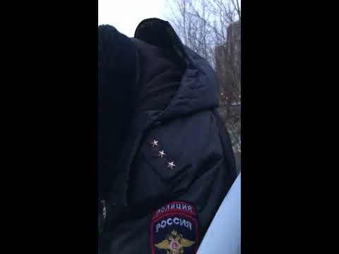 Работа полицейских Приморского района города Санкт-Петербурга.