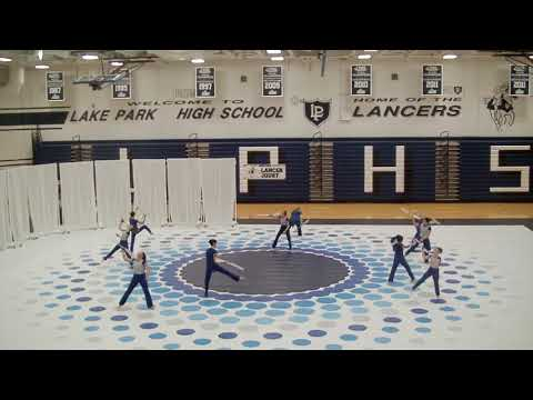 march 9th 2019 lake park high school winter guard competition