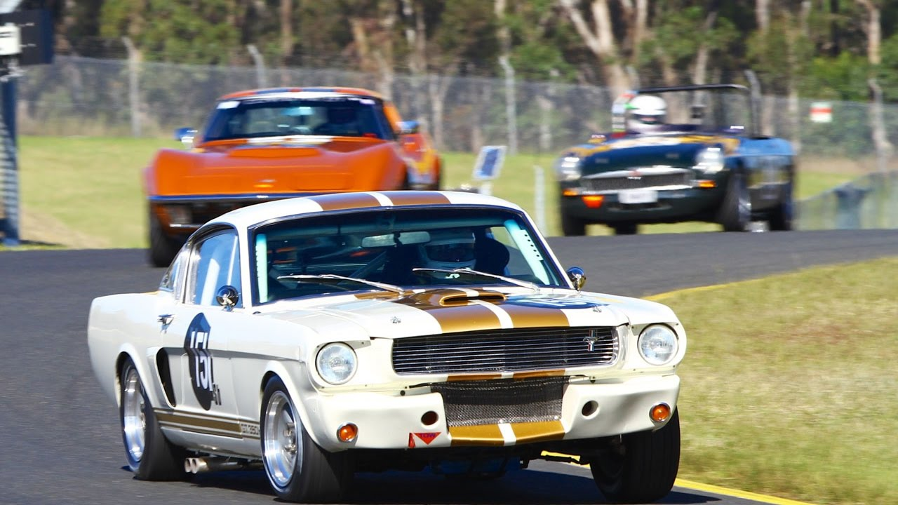 Historic Sports Car Racing Blend Line Tv Retro Racefest