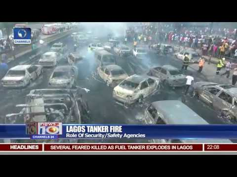 FRSC With Update On Lagos Tanker Explosion