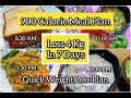 How To Lose Weight Fast 4Kg In 7 Days | 900 Calorie Diet Plan | Quick & Healthy Weight Loss Diet