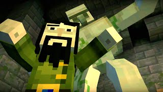 Minecraft: STORY MODE: The Order of the Stone - Part 4