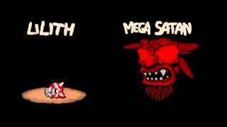The Binding of Isaac: Afterbirth - Lilith vs Blue Baby + Mega Satan