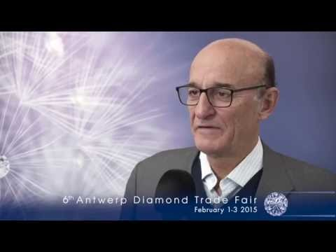 Antwerp Diamond Trade Fair 2014 INTERVIEW Rafif Tarabishi