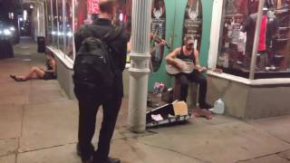 live show on frenchmen st new orleans