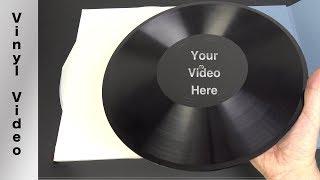 Custom VinylVideo discs are here