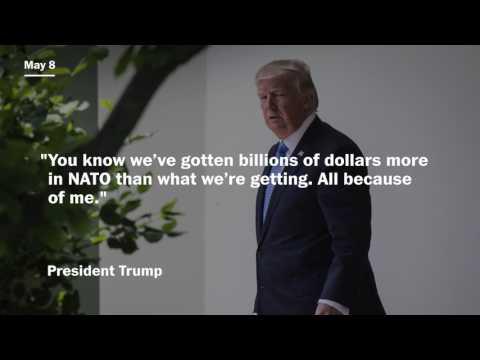 Fact Check: President Trump's rhetoric on NATO