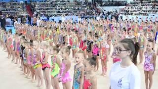 Минниханов и Бабич открыли турнир по художественной гимнастике «На вершине успеха»