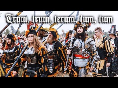 Trum, trum, terum tum tum [Landsknecht song][+English translation]