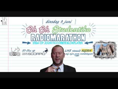 Oh Oh Studentiko Radiomarathon - interview met Dimitri Bontinck