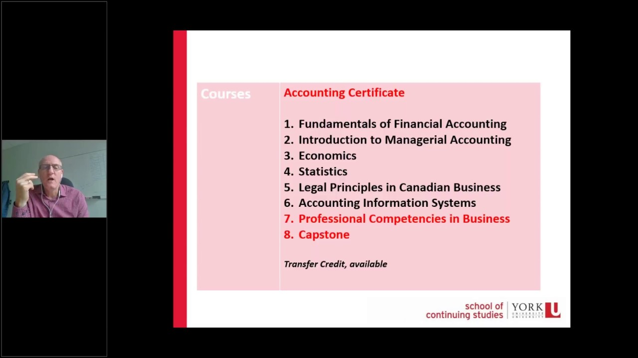 Post-Graduate Certificate in Advanced Professional Accounting