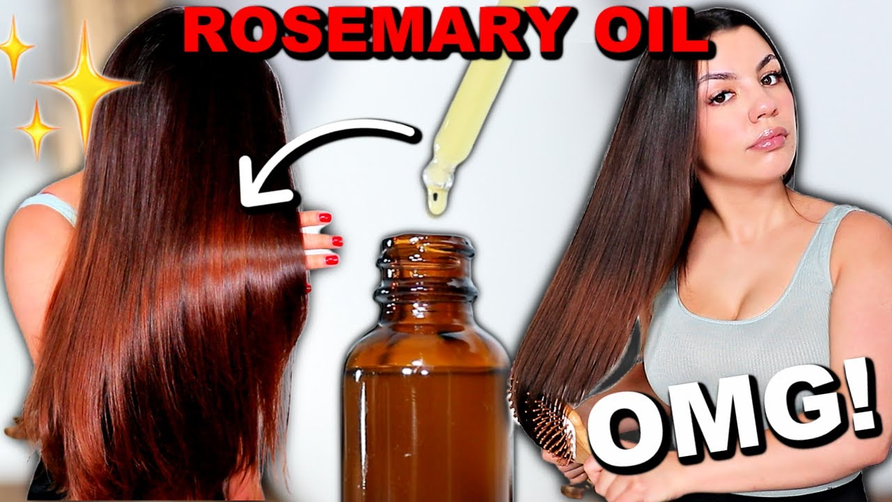 Download ROSEMARY OIL FOR HAIR GROWTH | How To Use Rosemary Oil For Extreme Hair Growth