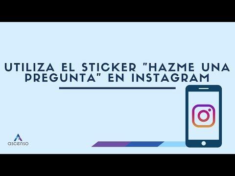 """¿Cómo usar el sticker """"Preguntas"""" de Instagram Stories?"""