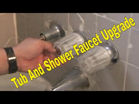 Tub And Shower Convert 3 Handle To Single Diy 2 Of 10 Hd You