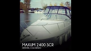 Used 2000 Maxum 2400 SCR for sale in Denver, Colorado