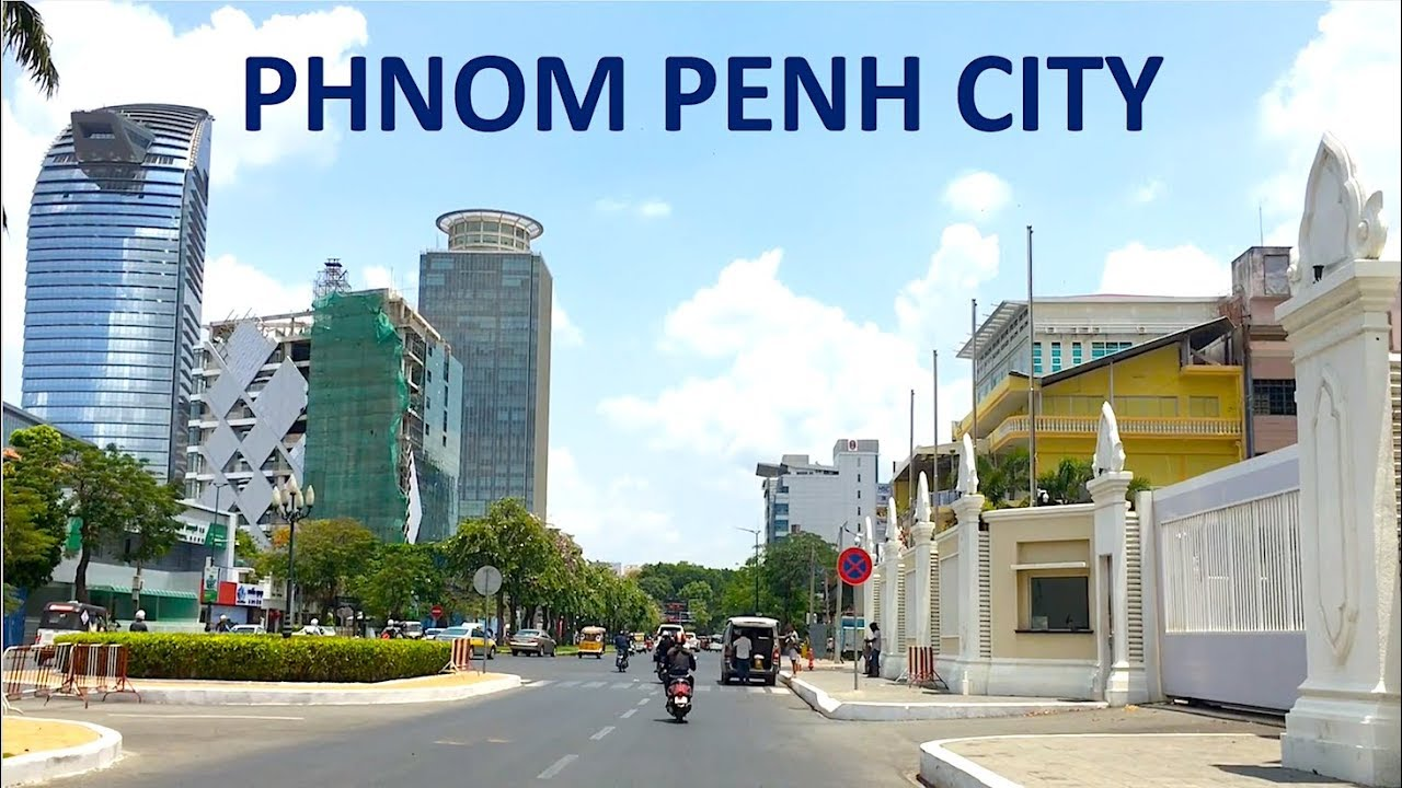 PHNOM PENH CITY, CAMBODIA TRAVEL