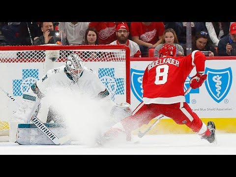 The best goals from the Sharks and Red Wings shootout thriller