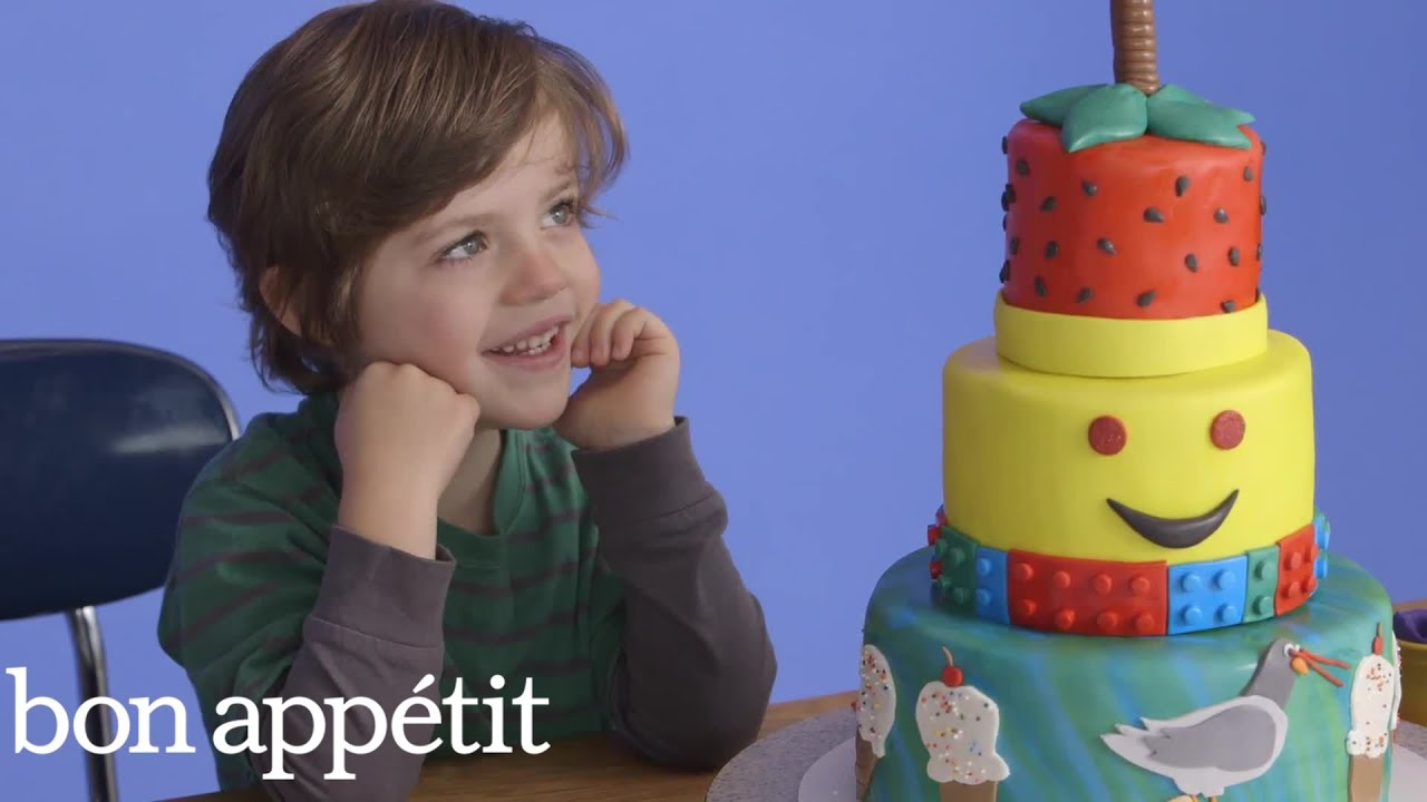 Kids Imagine Their Fantasy Cakes Then Get Them For Real | Most Amazingest Cakes | Bon Appétit