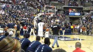 3 Point Shooting Contest - University Of Connecticut First Night 2011 Part 4