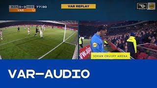 VAR | Achter de schermen bij Ajax - sc Heerenveen
