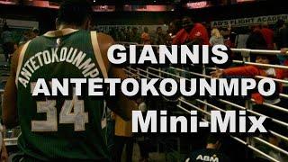 "Video Mini-Mix #6: Giannis ""Greek Freak"" Antetokounmpo download MP3, 3GP, MP4, WEBM, AVI, FLV April 2018"