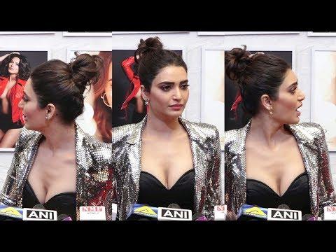 Karishma Tanna In Low Neck Dress At Dabboo Ratnani Calendar Launch 2019 thumbnail