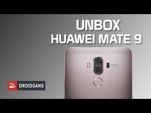 แกะกล่อง Huawei Mate 9 มีของอะไรแถมมาให้ในกล่องบ้าง - วันที่ 28 Dec 2016