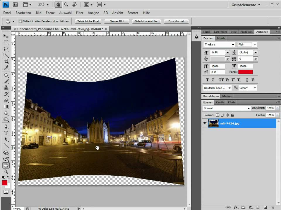 17 Photoshop Tutorial Panorama Erstellen Youtube