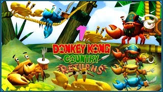 Donkey Kong Country Returns #1 - Kraby, kraby, kraby!