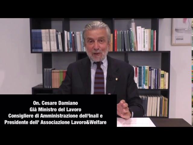 Intervento dell' Onorevole Cesare Damiano al 63°CONGRESSO NAZIONALE FEDERPOL