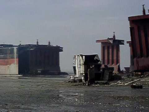 Shipbreaking in Chittagong Bangladesh