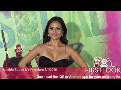 Corina Calderon at the New York Premiere of Suicide Squad