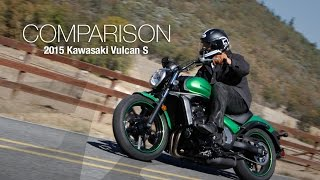 2015 Kawasaki Vulcan S vs CTX700N Comparison Part 2 - MotoUSA