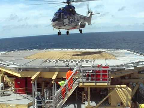 SuperPuma good landing on red deck