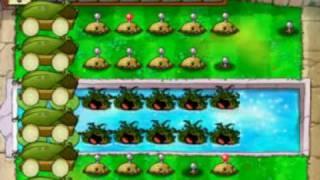 Plant vs. Zombie Cob Cannon Strategy