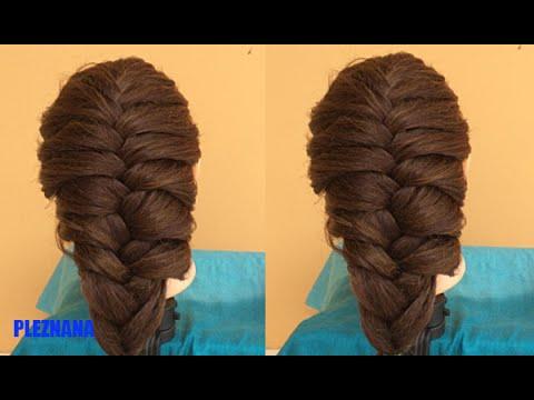 Back To School Hairstyles - Cách Tết Tóc Đuôi Tôm Và Xương Cá ทำผมไปโรงเรียน ง่ายๆเก๋ๆ