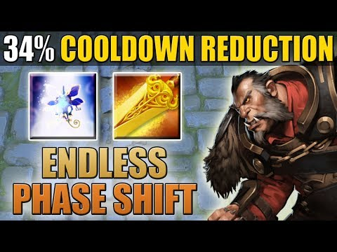 You Have only 0.71 sec to Kill Me [34% Cooldown Reduction Phase Shift Abuse] Dota 2 Ability Draft
