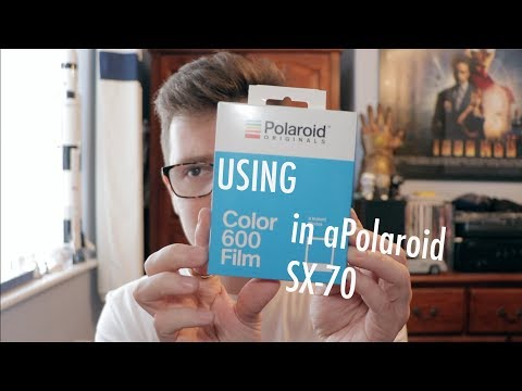 Using 600 Film in a Polaroid SX 70