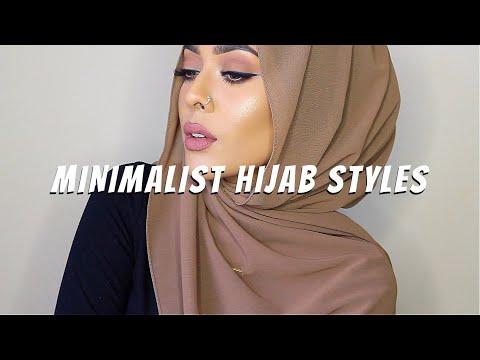 6 MINIMALIST HIJAB STYLES   Hijab Tutorial    MishaArtistry thumbnail