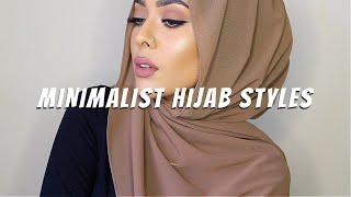 6 MINIMALIST HIJAB STYLES | Hijab Tutorial  | MishaArtistry