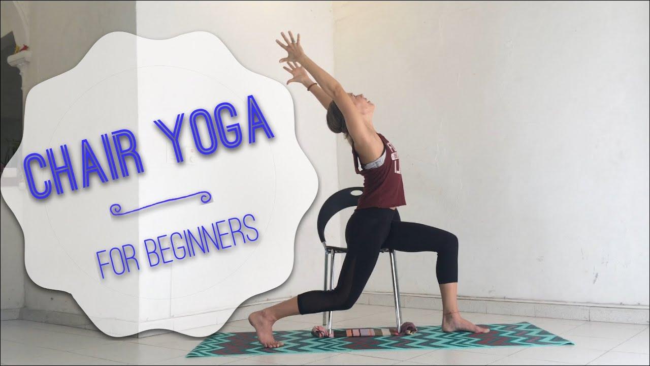 Beautiful chair yoga for seniors for Furniture yoga
