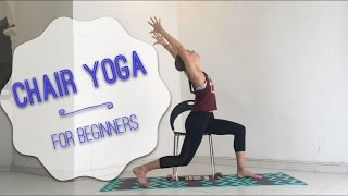 Chair Yoga - Easy Yoga for Beginners and People with Chronic Pain