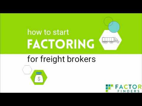 Factoring for Freight Brokers