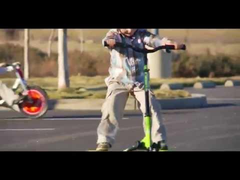Инерционный самокат Fliker. Technology. - YouTube