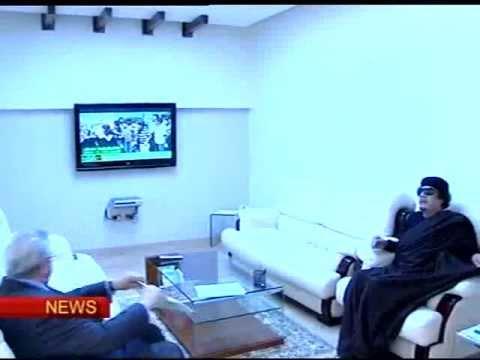 Gaddafi TV appearance on Libya State Television, Tripoli 19 May 2011