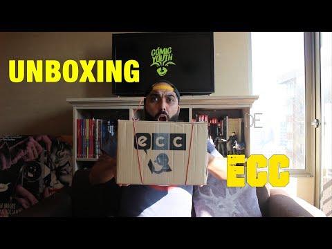 UNBOXING DE ECC COMICS   TODO DC Comics