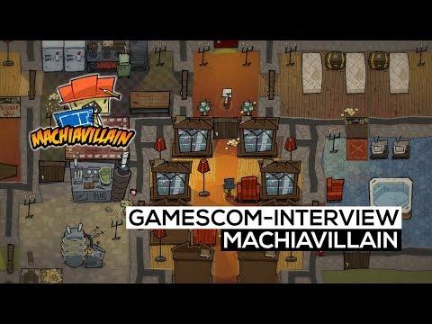 MachiaVillain - Das gamescom 2017-Interview