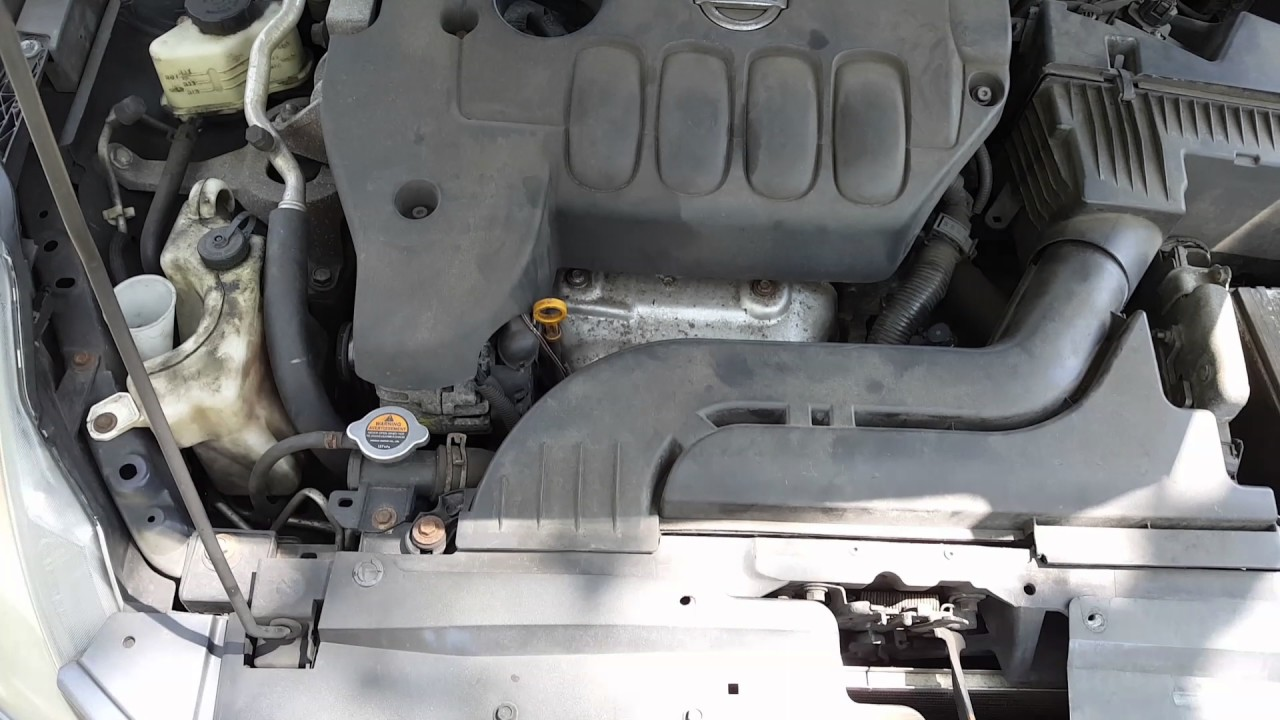 How To Change Head Lights On A 2008 Nissan Altima Youtube Coupe Engine Diagram