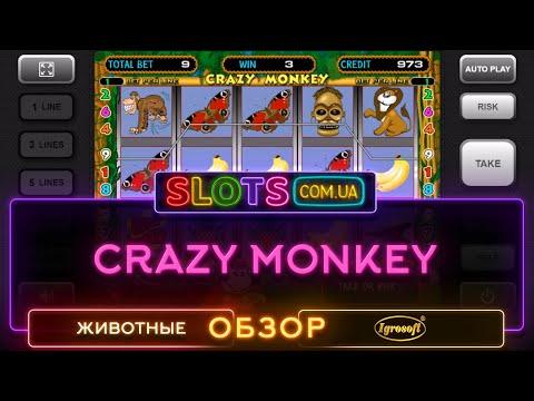 Подробный видеообзор слота Crazy Monkey (Обезьяны, Крези манки) от Igrosoft