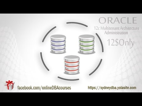 Oracle 12c Multi-tenant Architecture Administration Professional Online Video Course
